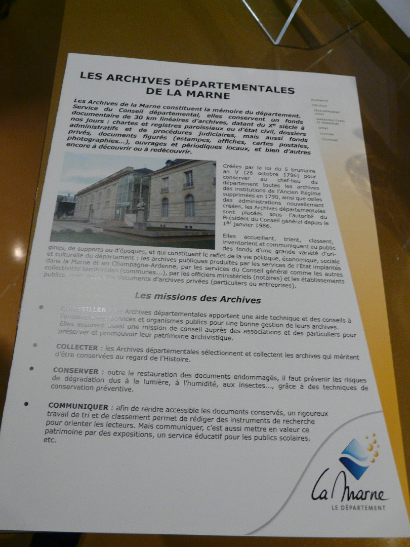 2018 05 Visite Des Archives Departementales Pour Les Eleves De 3B